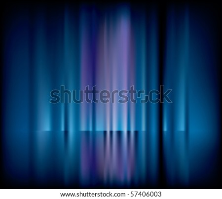 vector abstract background with blurry vertical strips - stock vector