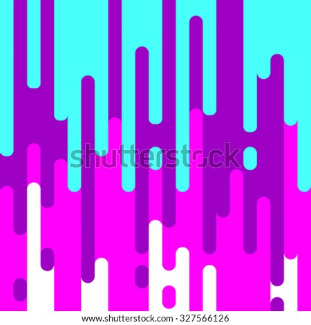 Vector abstract background with dripping paint. - stock vector