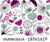 vector - abstract background with nature theme - stock photo