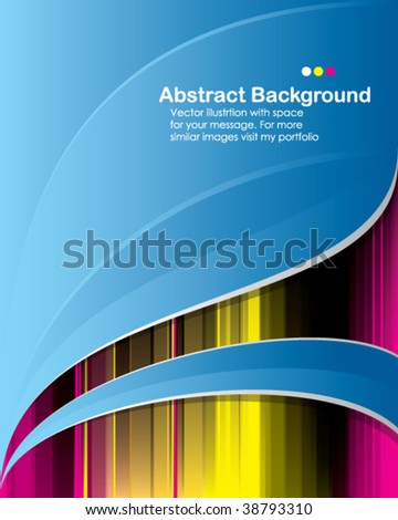 Vector. Abstract background with place for your message - stock vector
