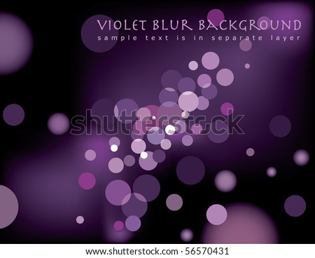 vector abstract background with sample text in separate layer - stock vector