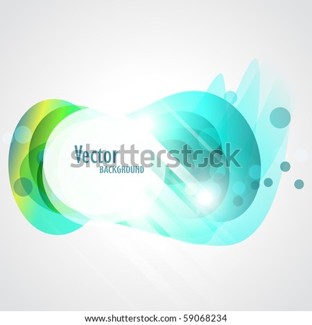 vector abstract background with space for your text