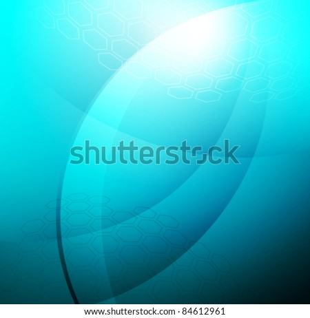 Vector Abstract Backgrounds in techno style - stock vector