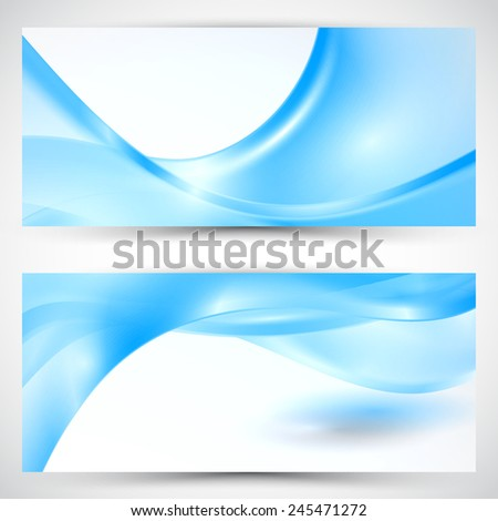 Vector abstract banner background. Eps 10 vector illustration. - stock vector
