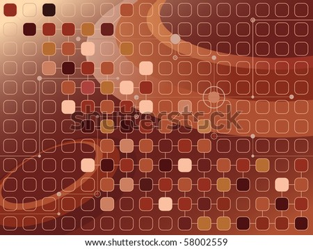 vector abstract brownish futuristic background