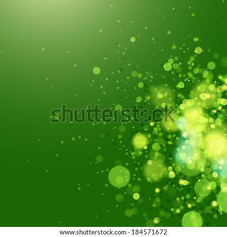 Vector abstract eco background.