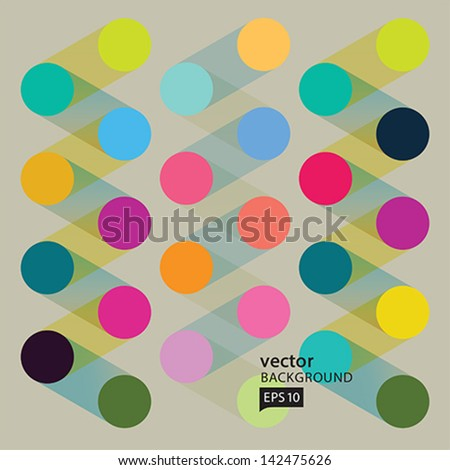 Vector Abstract geometric background.EPS10 - stock vector