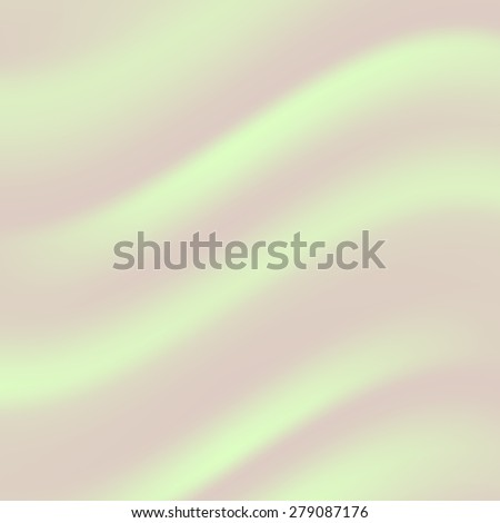 Vector Abstract Green Wave Background for Your Design. - stock vector