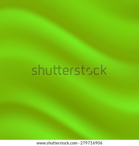 Vector Abstract Green Wave Background for your Design - stock vector
