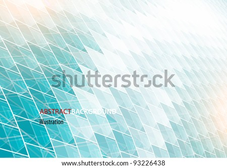 vector abstract high-tech background - stock vector
