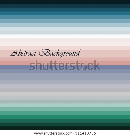 Vector abstract landscape - design template in bright gradient coors - with copy space for logo or text - splash screen or banner background - stock vector