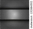 Vector abstract metallic background  - stock vector