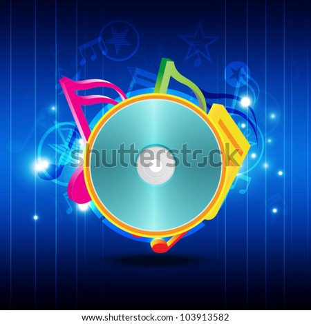 vector abstract music sonic, party background