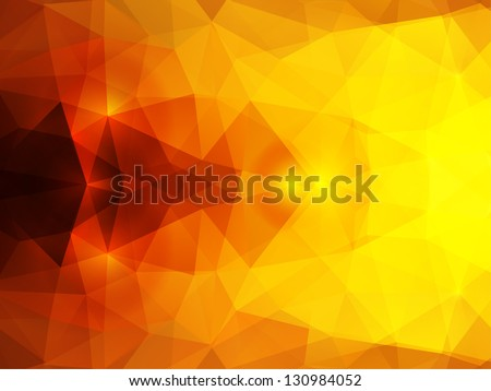 vector abstract mystical polygonal background - stock vector