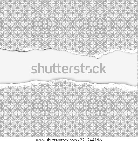 Vector abstract pattern (background of geometric shapes) - stock vector