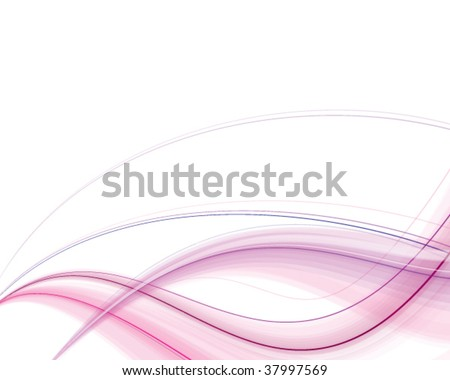 Vector. Abstract pink silky background. Free space for your message. - stock vector