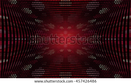 Vector Abstract Pixel Background - stock vector