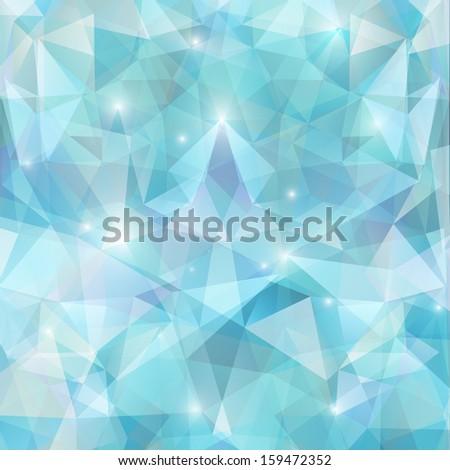 vector abstract polygonal background - stock vector
