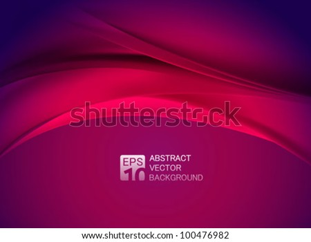 vector abstract purple background - stock vector