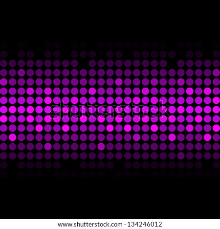Vector abstract purple lights - stock vector