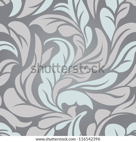 Vector abstract seamless pattern - abstract background - stock vector