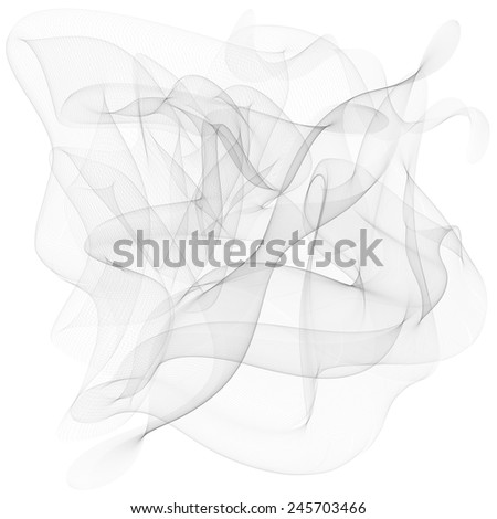 Vector abstract smoke background smoke abstract abstraction line backdrop motion isolated, - stock vector