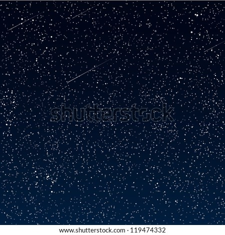 Vector abstract Space background - stock vector