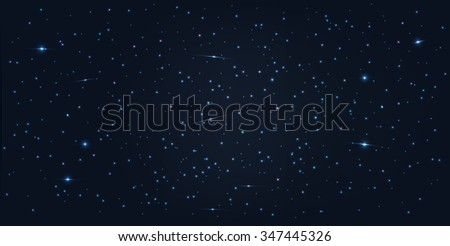 Vector abstract space background .  - stock vector
