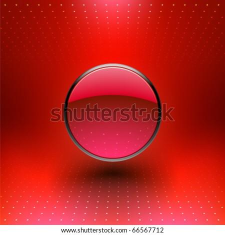 Vector Abstract Sphere Design - stock vector
