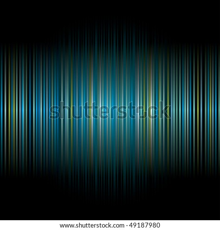 vector abstract stripped background in blue colors - stock vector