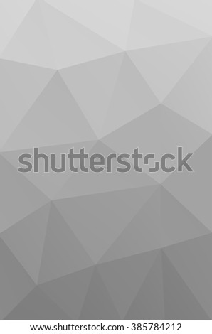 Vector abstract triangulated grey background. White. Broken glass. Shattered. Pale. Geometric. Blurred. Calm. Cool. Colorless. Gradient. Triangle. Pattern. Texture. Modern.