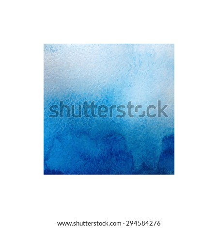 Vector abstract watercolor hand paint texture isolated on white background watercolor textured backdrop