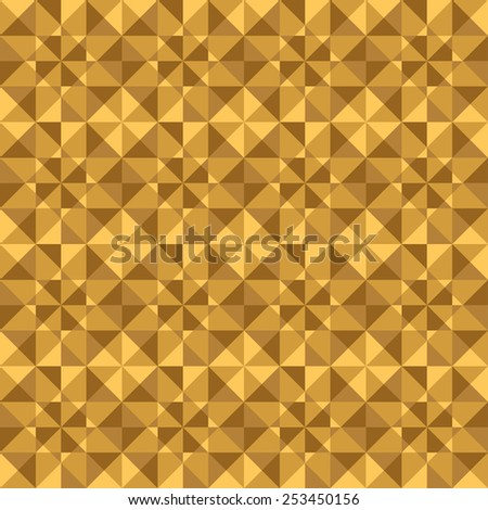 Vector abstract woody polygonal mosaic background. Pattern of geometric shapes.  - stock vector
