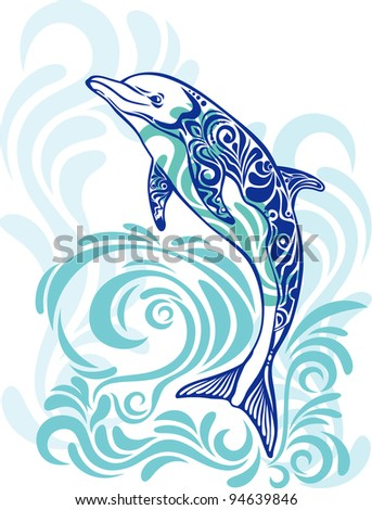 Vector abstraction with a dolphin
