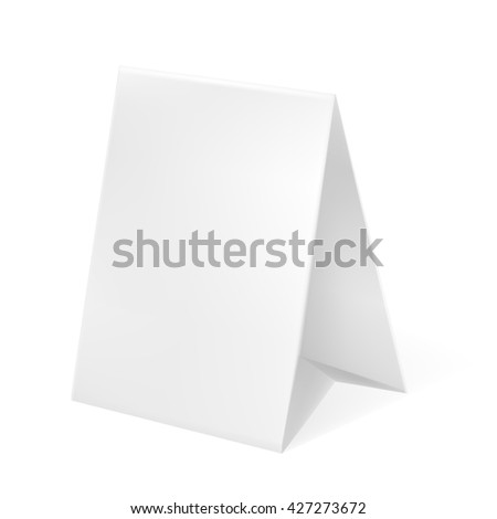 VECTOR ADS: White gray POS POI Outdoor 3D Marketing/Advertising on Isolated white background. Mock-up template ready for design. - stock vector