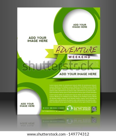 advertising poster template
