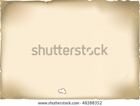 Vector ancient page - stock vector
