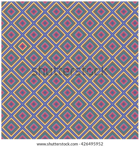 Vector angular colorful pattern