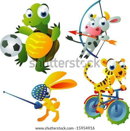 Cartoon network olympics games