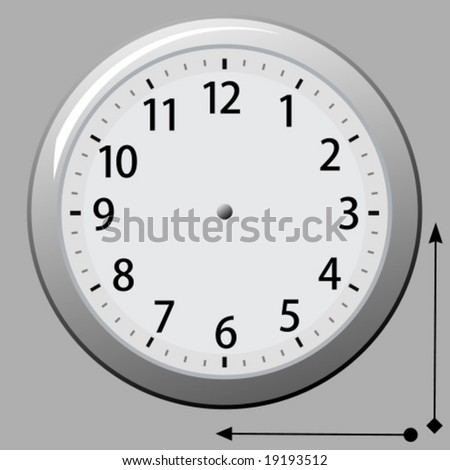 Vector: Any Time. An easy to edit clock. For a jpg-version, see my portfolio please (click on my name).