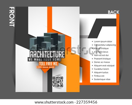 Architecture Brochure Stock Images RoyaltyFree Images  Vectors