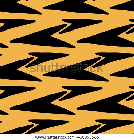 Vector arrows seamless pattern.