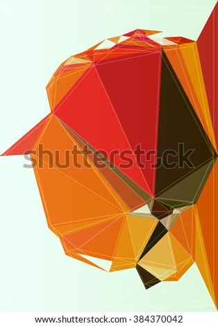 vector art abstract geometry design mosaic illustration