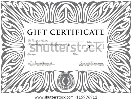 Vector Art Deco Frame. Easy to edit. Perfect for invitations or announcements. - stock vector