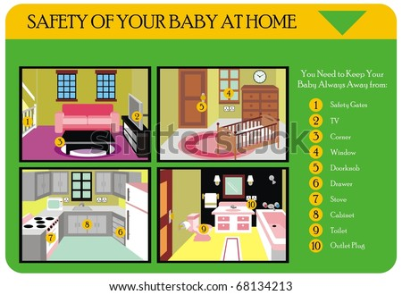 How clean wash your hand step stock illustration 576288925 for Valuable things in your home