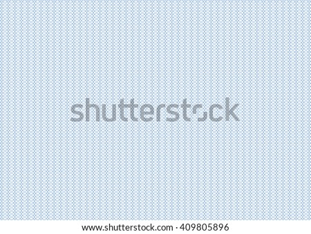 Vector backgroud - guilloche texture - blue pattern. For certificate, voucher, banknote, money design, currency, note, check, ticket, reward.  - stock vector