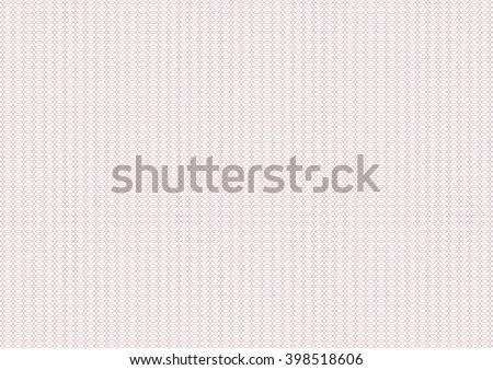 Vector backgroud - guilloche texture - pink pattern. For certificate, voucher, banknote, money design, currency, note, check, ticket, reward.  - stock vector