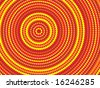 Vector background aboriginal style symbolic design. - stock photo