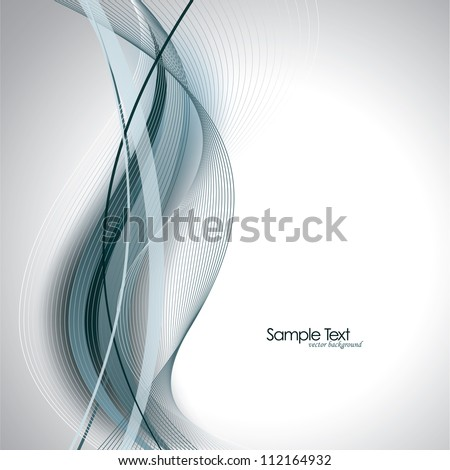 Vector Background. Abstract Design. - stock vector