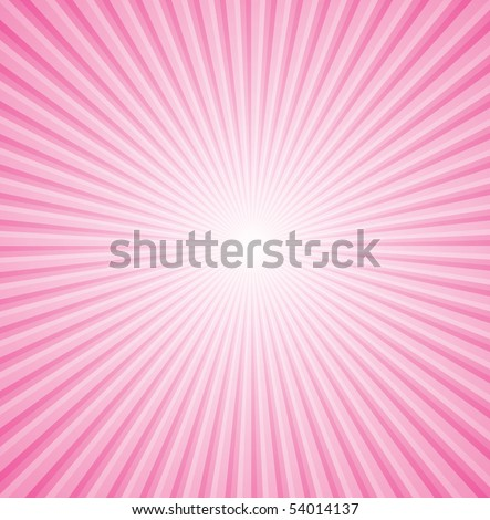 vector background and pink ray - stock vector